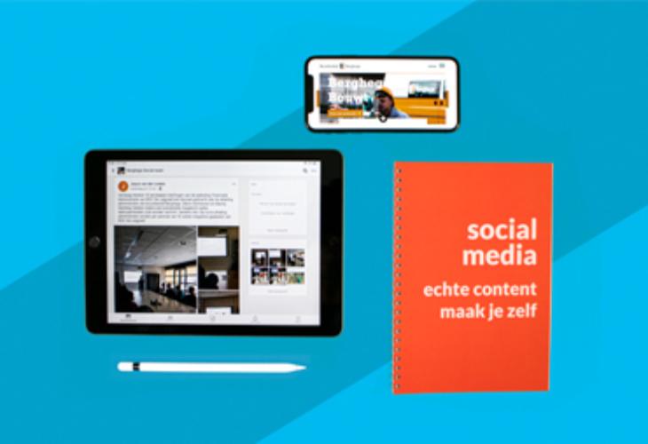 Social media? Berghege maakt zelf echte content!