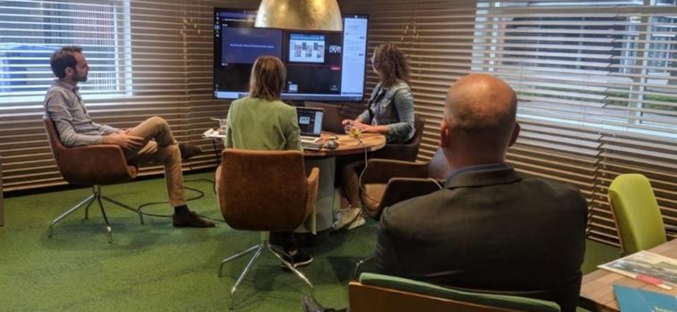 Virtuele meet & greet voor Wonen aan de Vesting