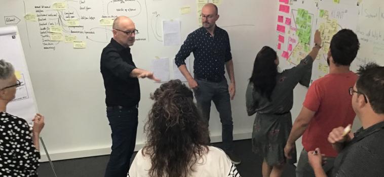 Sprintsessies voor nieuwe ideeën
